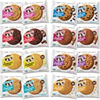 Lenny & Larry's The Complete Cookie, 8 Flavor Variety Pack, Soft Baked, 16g Plant Protein, Vegan, Non-GMO, 4 Ounce Cookie (Pack of 16)