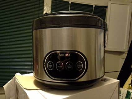 amazon com aroma housewares 16 cup cooked digital rice cooker and rh amazon com