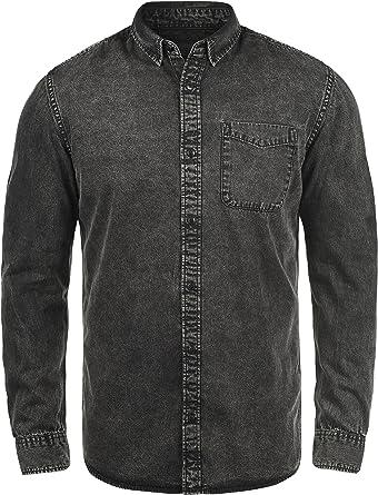 Produkt Pepito Camisa Tejana Denim Vaquera para Hombre De 100% algodón: Amazon.es: Ropa y accesorios