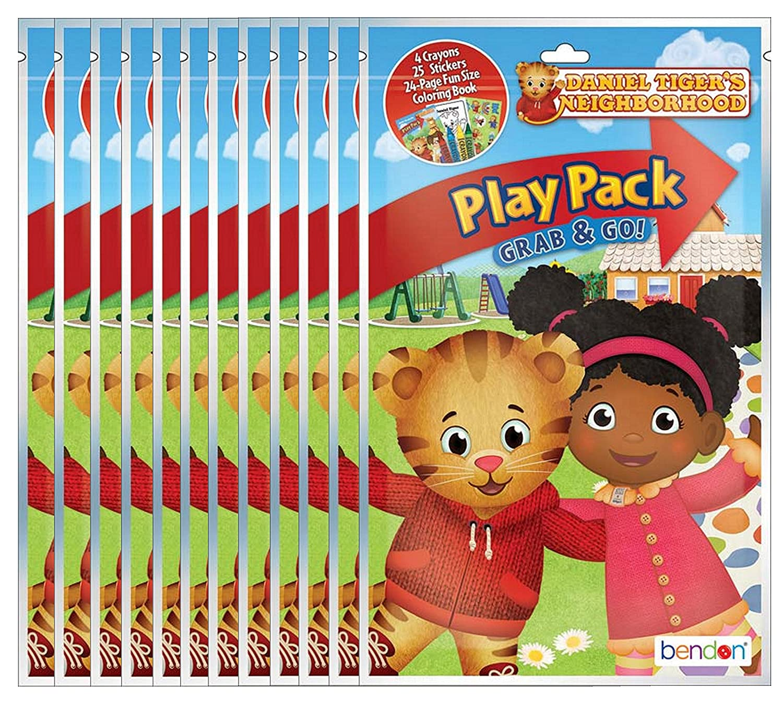Amazon.com: Bendon PBS Kids\' Daniel Tiger\'s Neighborhood Grab and Go ...