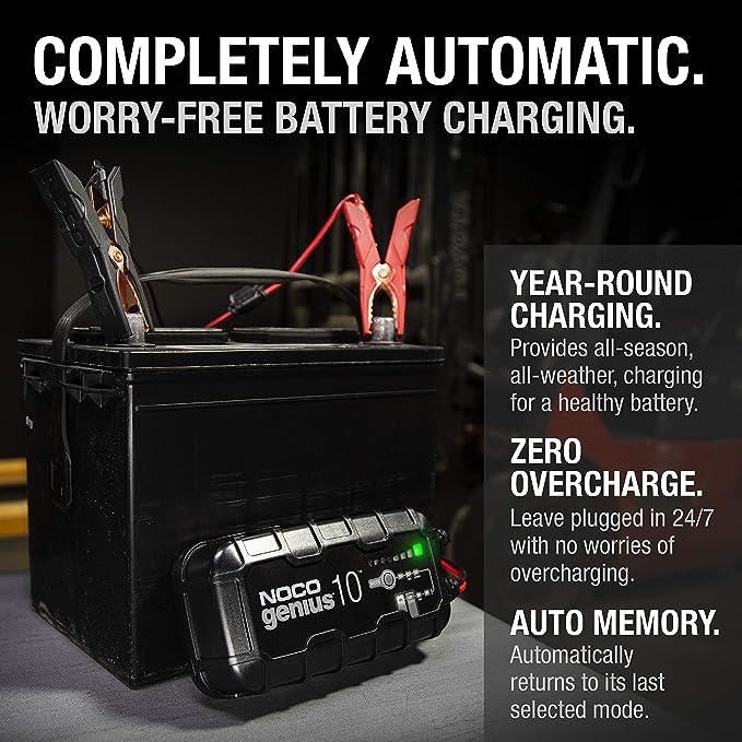 Noco Genius10 10 Amp Fully Automatic Smart Charger 6v Elektronik