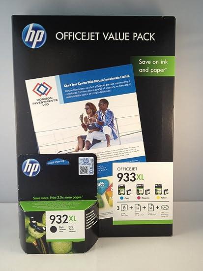 4 Original XL Druckerpatronen für HP Officejet 7110 Wide Format ...