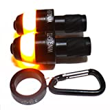 WingLights Mag - Direction Indicators for Bicycles / Bike Indicators AS SEEN ON DRAGONS' DEN