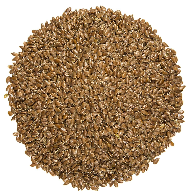 Semillas de lino, marrón: semillas de lino: sabor nutty ...