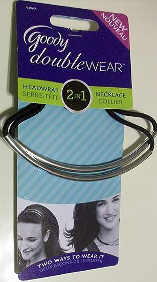 GOODY DOUBLEWEAR 2 IN 1 HEADWRAP//NECKLACE 2 PCS - 03960