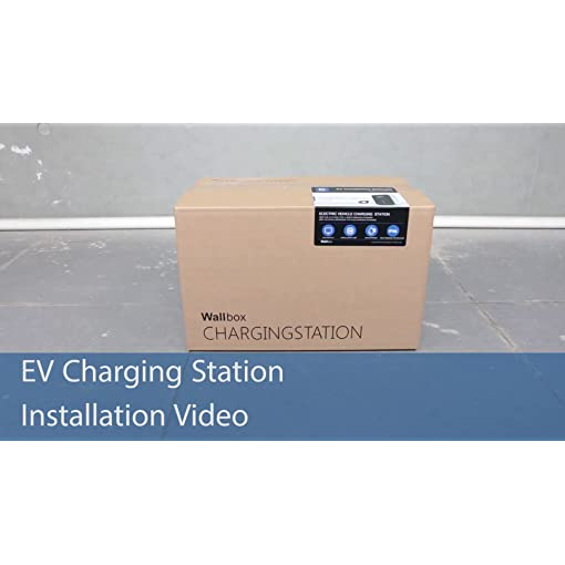 Morec EV Charging Station 32A Type 2 ev charger IEC 62196-2 plug with Power Wire to Distribution Box Portable fast… Amazon choices
