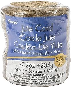 Darice 3 Ply Natural Jute, 28 lb