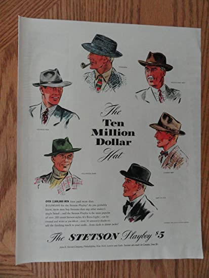 92db1863b3d4 Amazon.com  the Stetson Playboy Hat