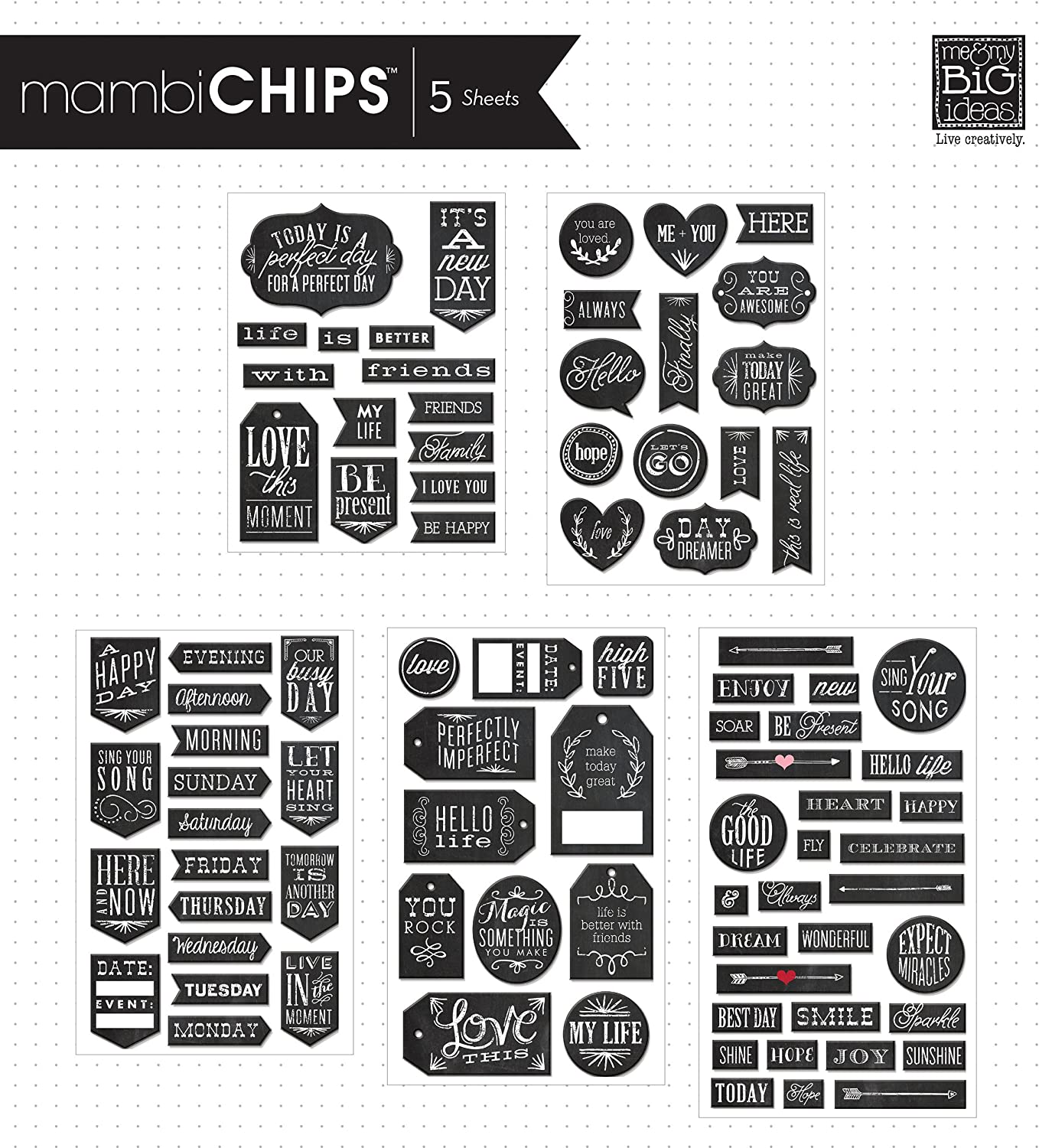 Love You to The Moon Scrapbooking Laser Cut Chipboard 2 Piece Set