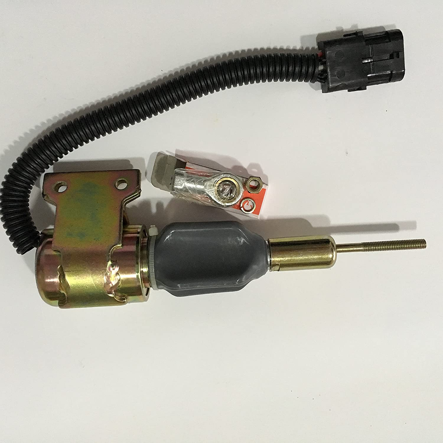 OFFERPARTS P//N:3935432,24V shutdown solenoid,shut off stop solenoid fit to Cummins 6BT 5.9 engine
