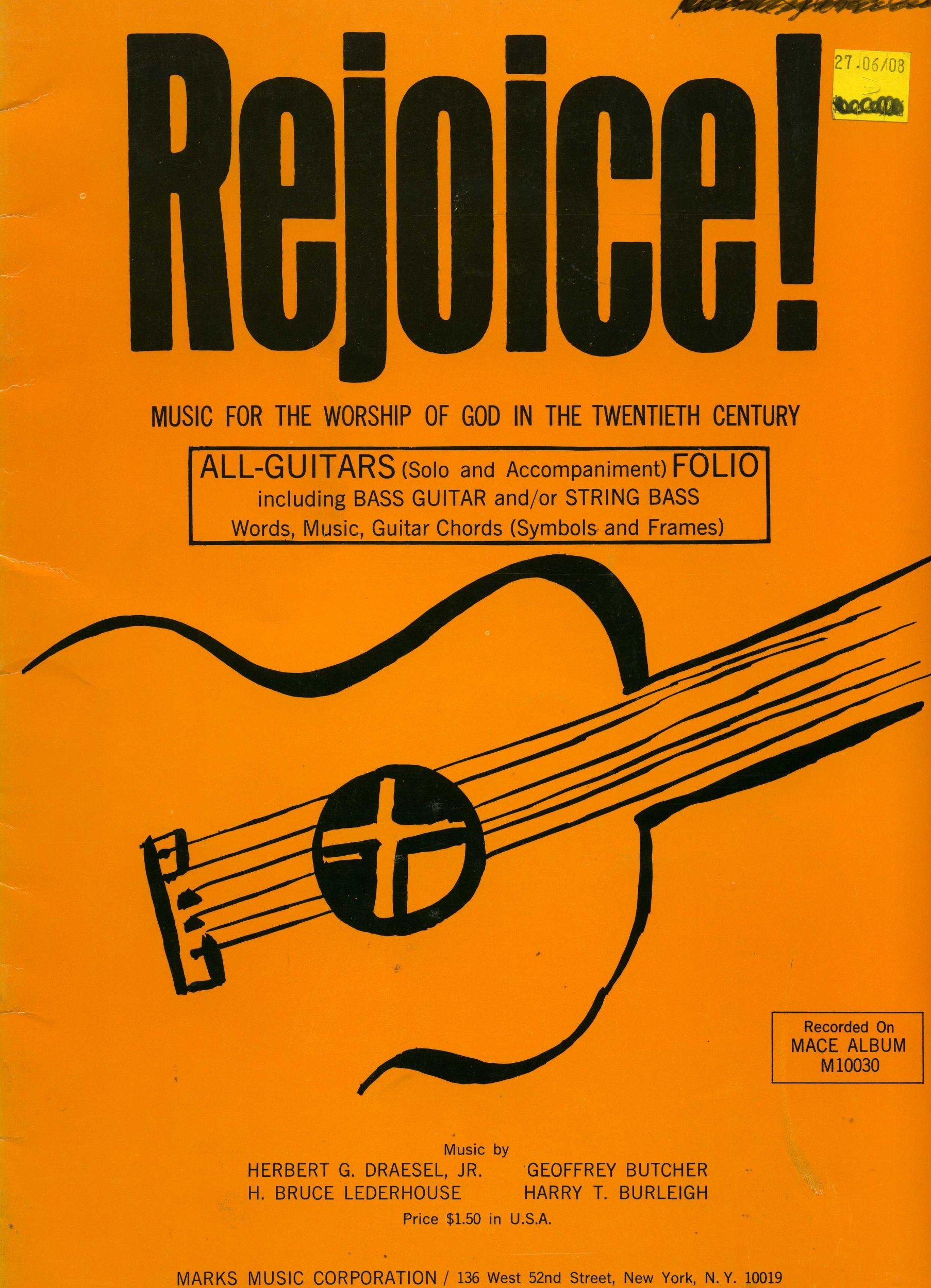 Rejoice Music For The Worship Of God In The Twentieth Century All