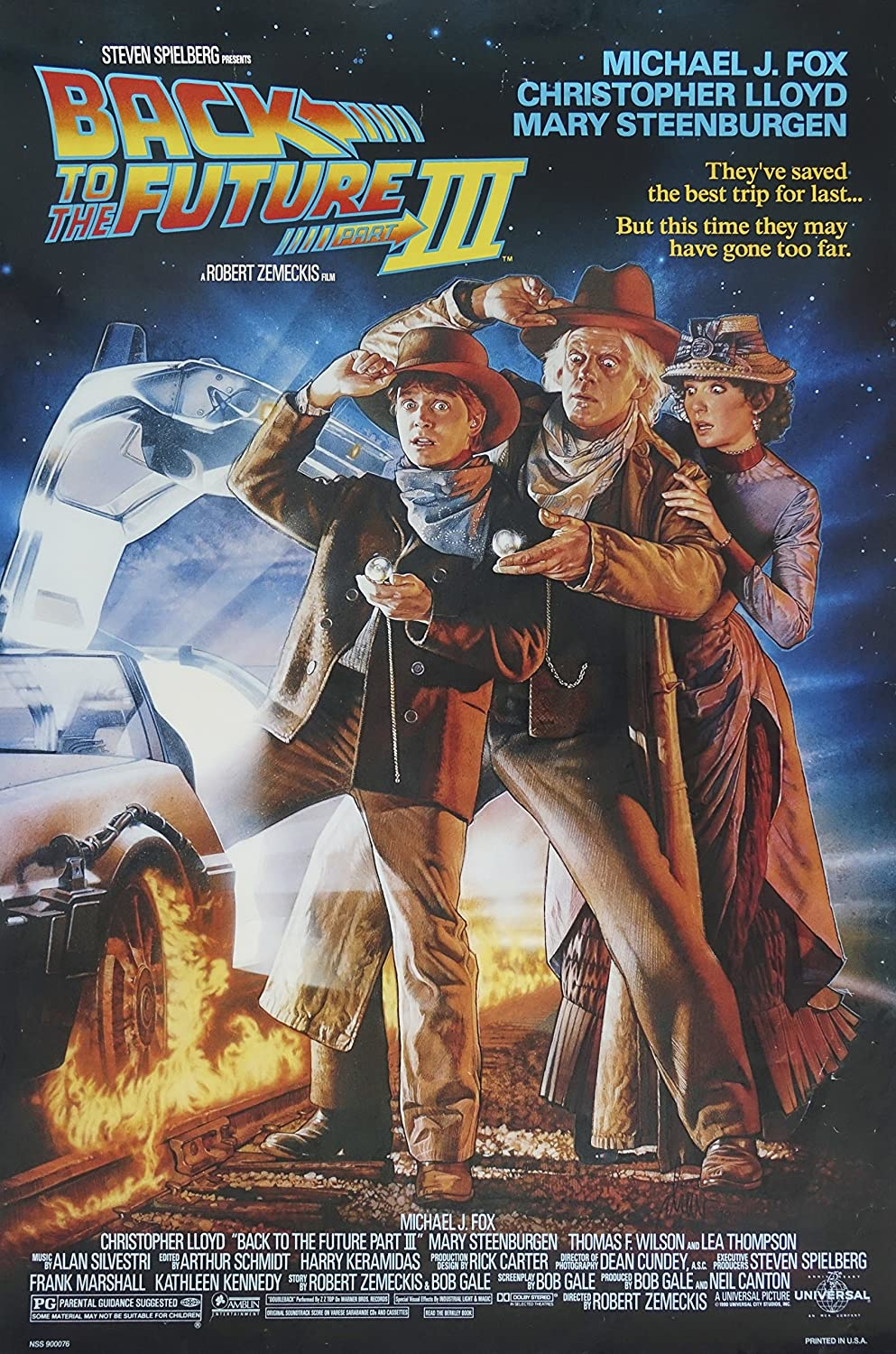 Back To The Future II Movie Poster Print T040 A4 A3 A2 A1 A0|