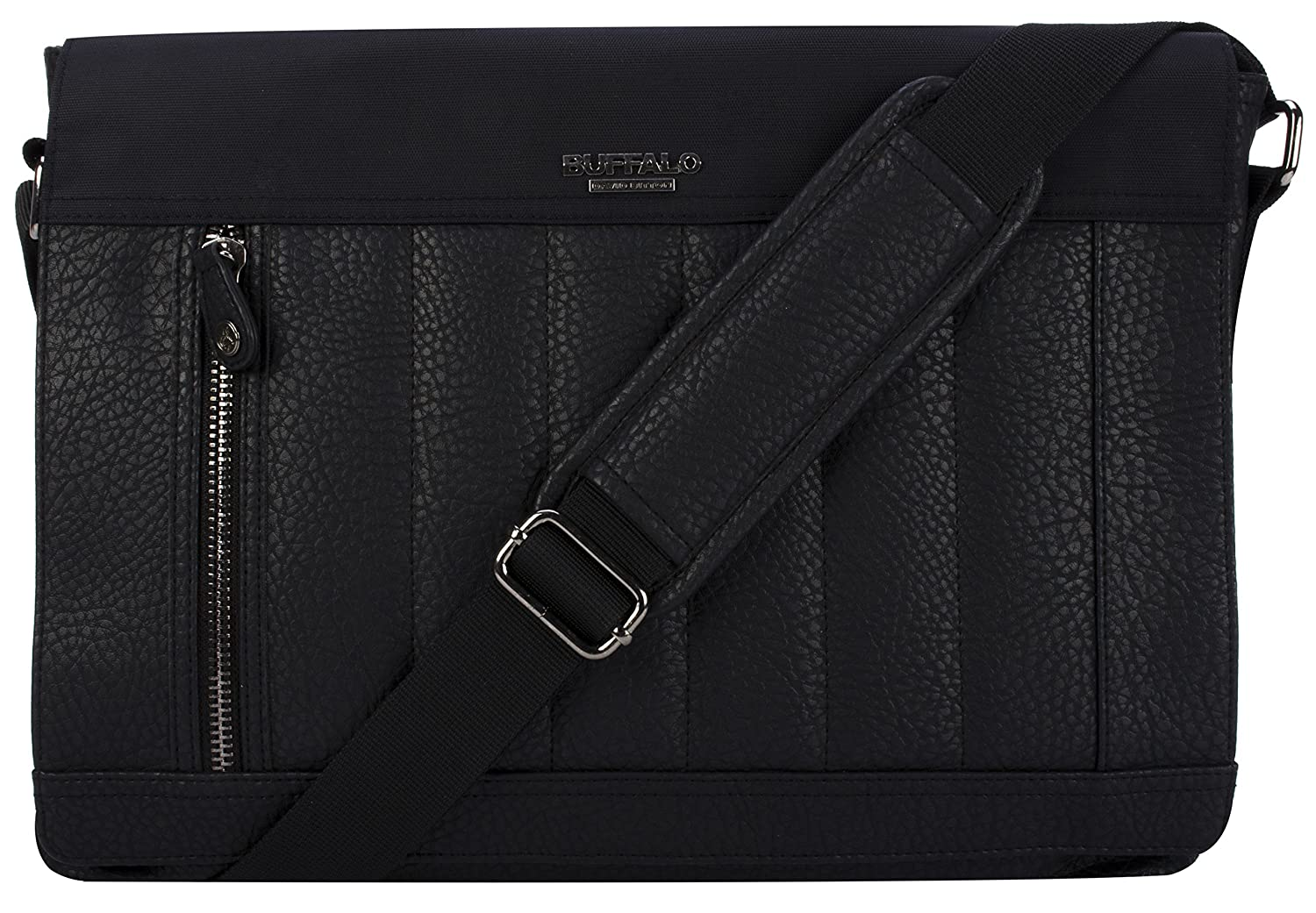 Buffalo David Bitton Stockholm Messenger Bag in Black