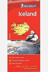 Michelin Iceland: 750 (Michelin Map) Map