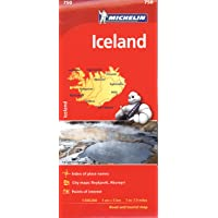 Michelin Iceland Map 750