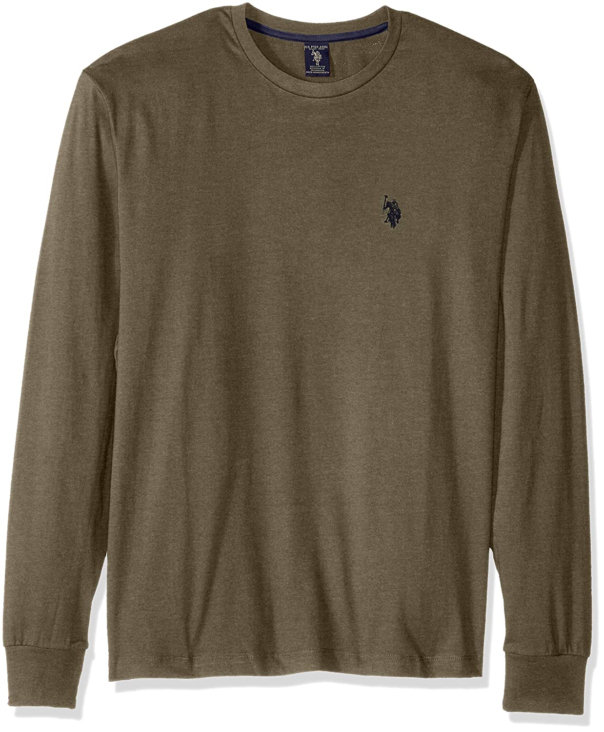 U.S. Polo Assn. Men's Long Sleeve Crew Neck T-Shirt U.S. Polo Assn Mens Traditoinal Collections