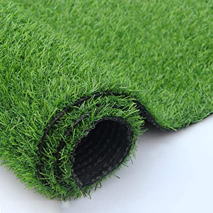 Shaddock Fishing Artificial Grass Turf Lawn Fake Grass Mat Thick Synthetic Turf Rug Indoor Outdoor Carpet Garden Lawn Landscape Rubber Backed With Drainage Holes Amazon Co Uk Kitchen Home