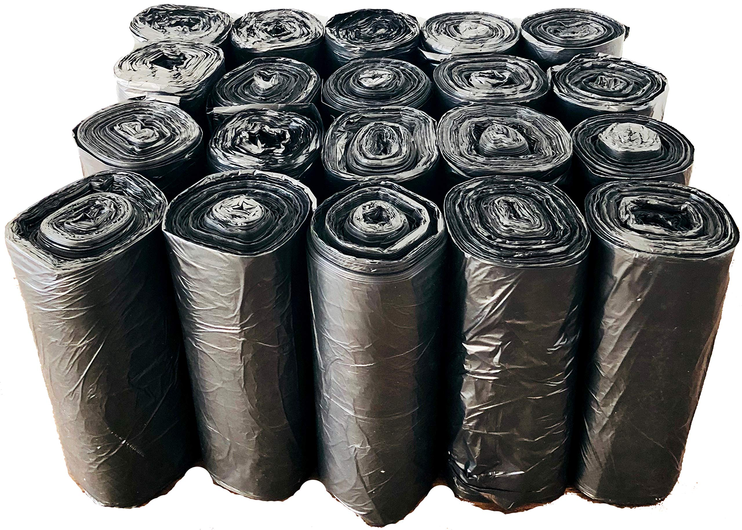 Reli. Trash Bags, 13 Gallon (Wholesale 1000 Count) (Black) - Can Liners, Garbage Bags with 13 Gallon (13 Gal) to 16 Gallon (16 Gal) Capacity by Reli. (Image #4)