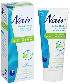 Nair Sensitive Hair Removal Cream 80ml Pack Of 6 Holiday Gifts