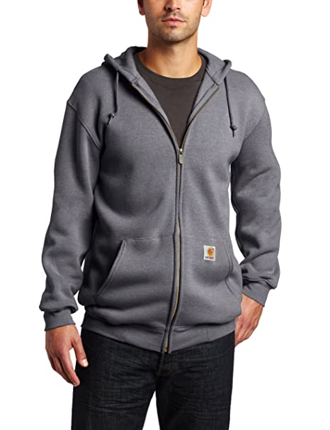 22c95230e Carhartt Men's Big & Tall Heavyweight Sweatshirt Hooded Zip Front Original  Fit