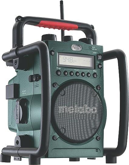 Metabo Radio RC 14.4-18 - Radio cargador de baterías 14,4 V y 18 V ...