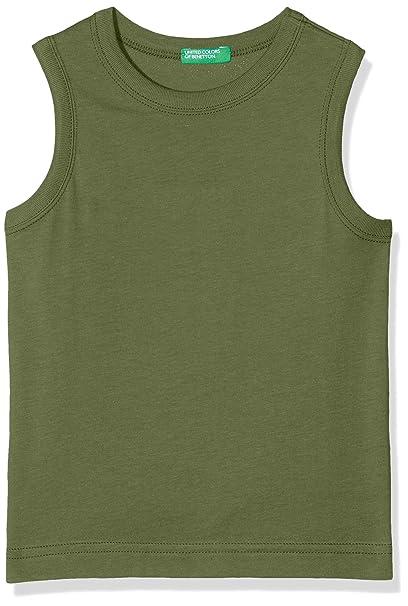 United Colors of Benetton Tank-Top, Camiseta Deportiva de Tirantes para Niños: Amazon.es: Ropa y accesorios