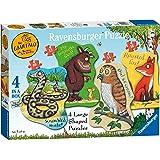 Ravensburger The Gruffalo 4 Large Shaped Jigsaw Puzzles (10,12,14,16pc)