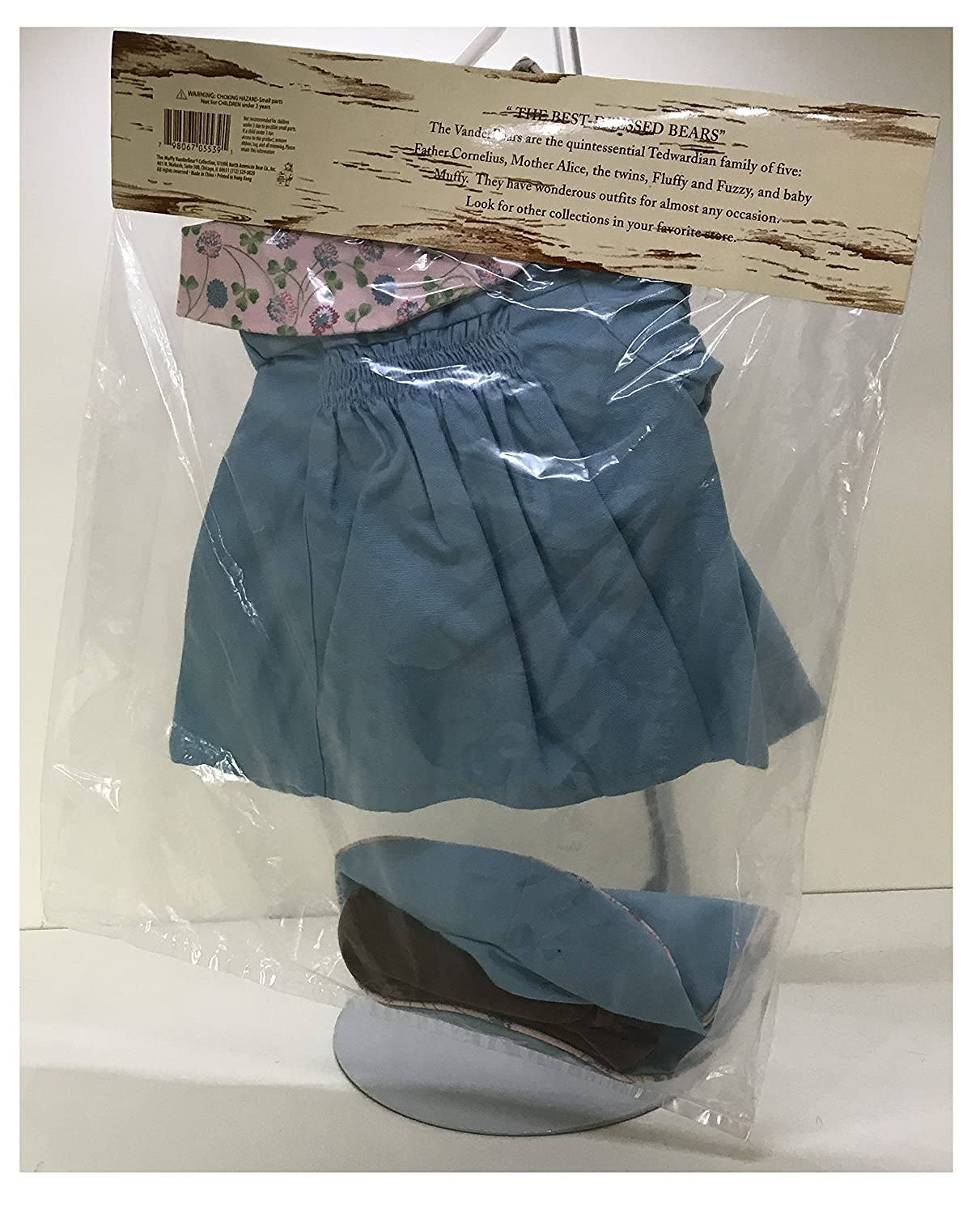 Amazon.com: Vanderbear Wear Alice Take A Hike Outfit Only 5539: Toys & Games