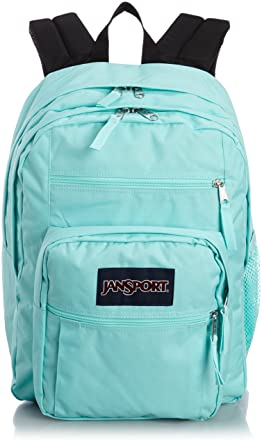 Amazon.com: JanSport Big Student Backpack, Aqua Dash, 34L: Clothing