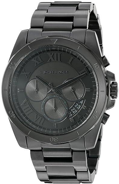 a1e95d6a85dc Buy Michael Kors Analog Black Dial Men s Watch - MK8482 Online at ...