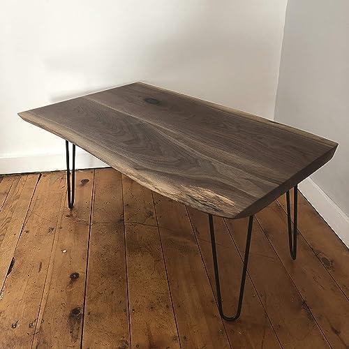 Amazon Com Black Walnut Live Edge Coffee Table Handmade
