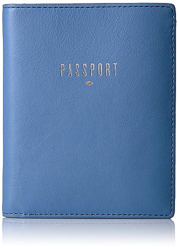 Fossil Rfid Passport Wallet-cornflower Pass Case