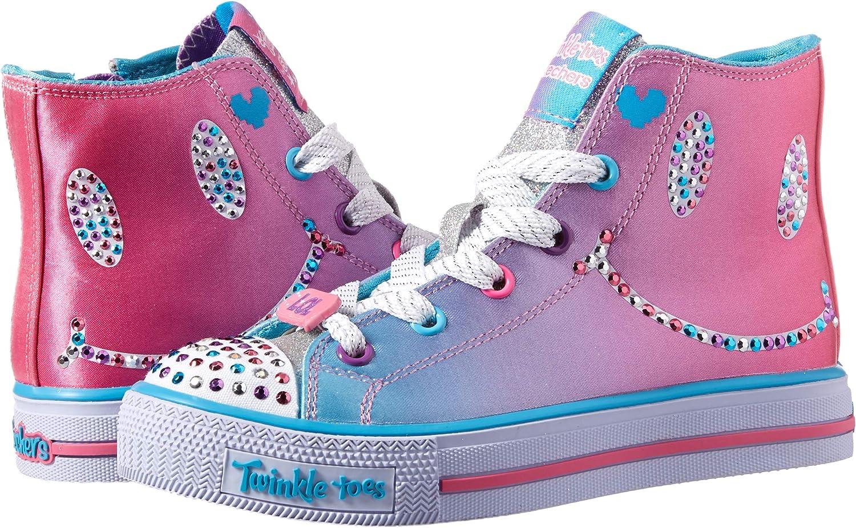 Skechers Kids Shuffles-Sparkle Smile Sneaker