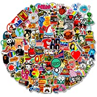 200 pcs Cool Random Stickers Vinyl Skateboard Stickers, Variety Pack for Laptop Hydro Flask Guitar Travel Case Water…