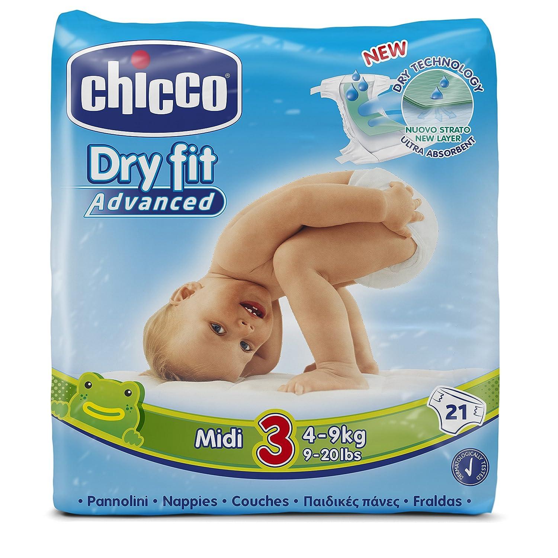 Chicco Dry Fit Advanced 25/St/ück Mini Gr/ö/ße 2/Windeln