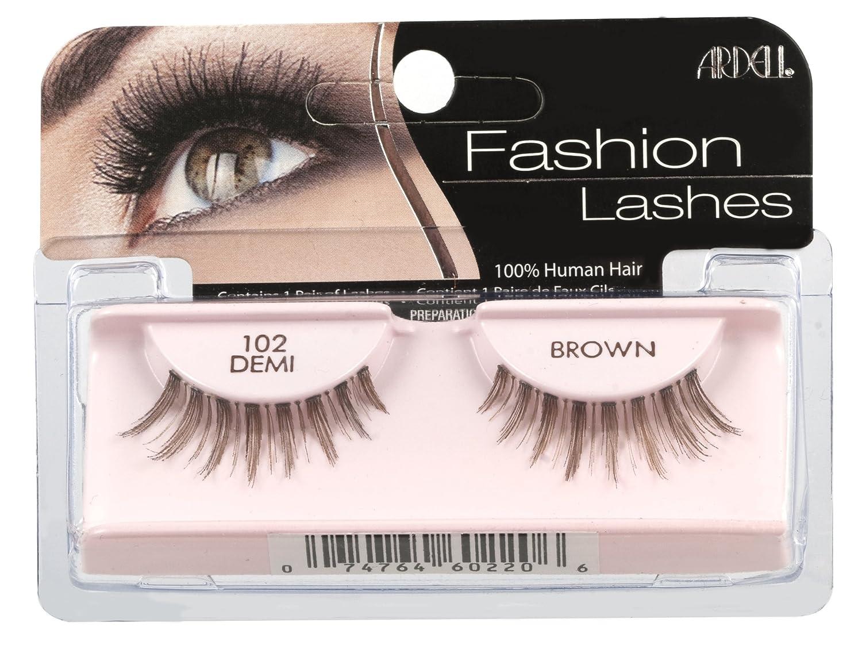 a05bd47b31e Amazon.com : Ardell Fashion Lashes Pair - 102 Demi (Pack of 4) : Fake  Eyelashes And Adhesives : Beauty