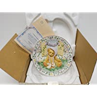 Cherished Teddies Springtime Happiness Plate 203009
