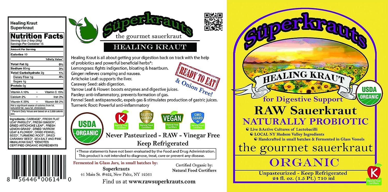 Chucrut curativo Superkraut para el apoyo digestivo - ...