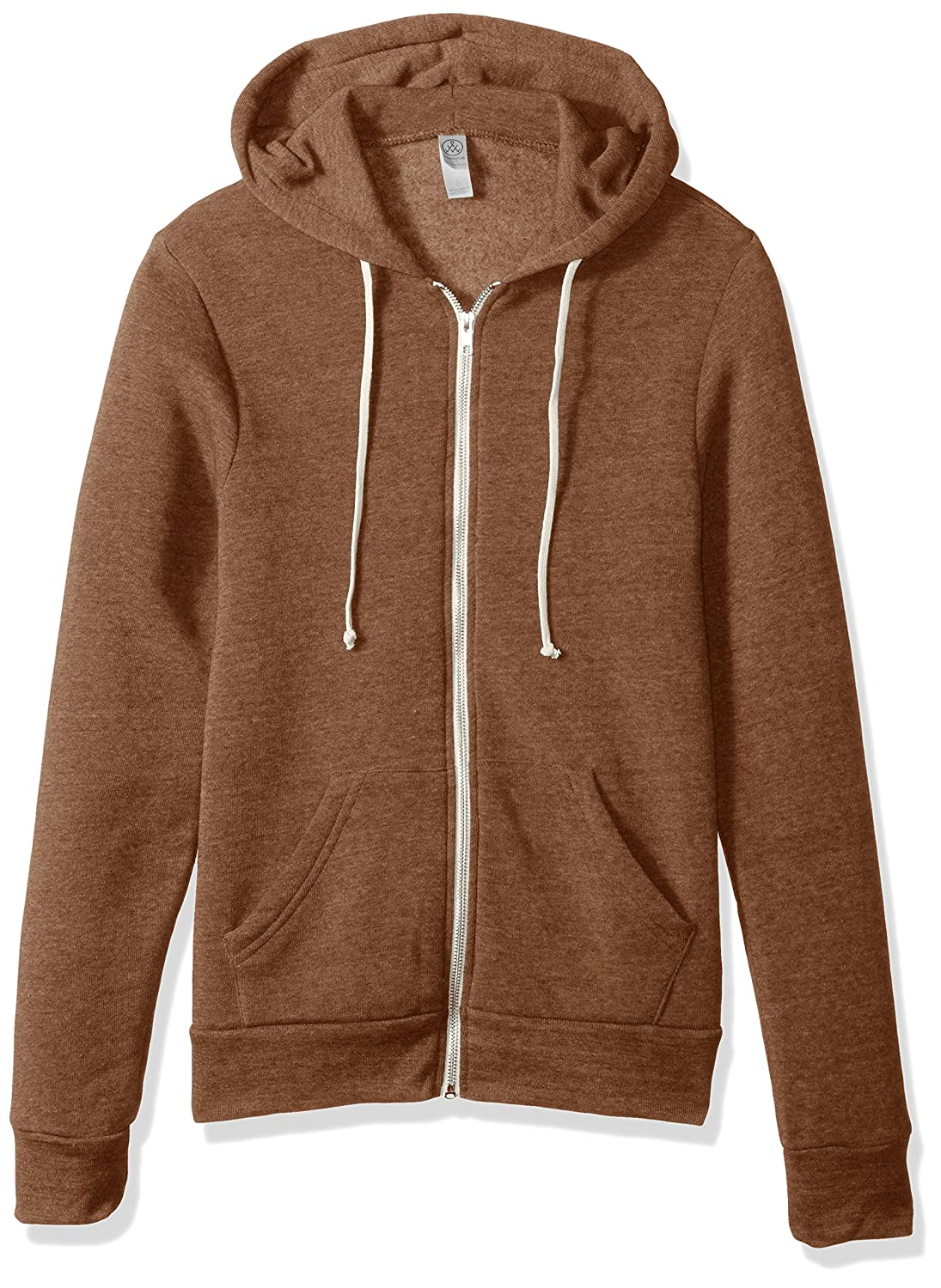 (オルタナティブ)Alternative Rocky Eco-Fleece Zip Hoodie B07657FLF2 Medium|Eco True Emperador Eco True Emperador Medium