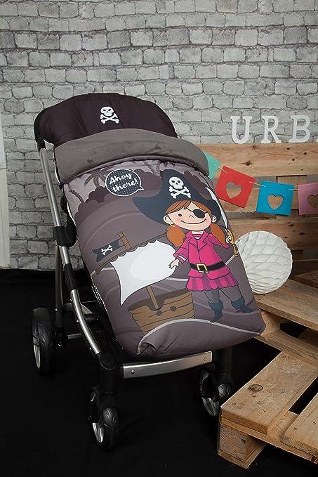 Babyline Barco Pirata Chica - Saco de silla de paseo