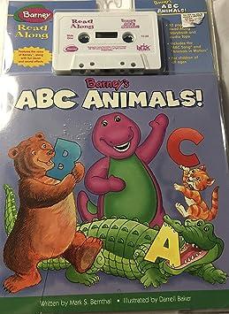 Read Along Barneys Abc Animals Read Along Amazoncom Music