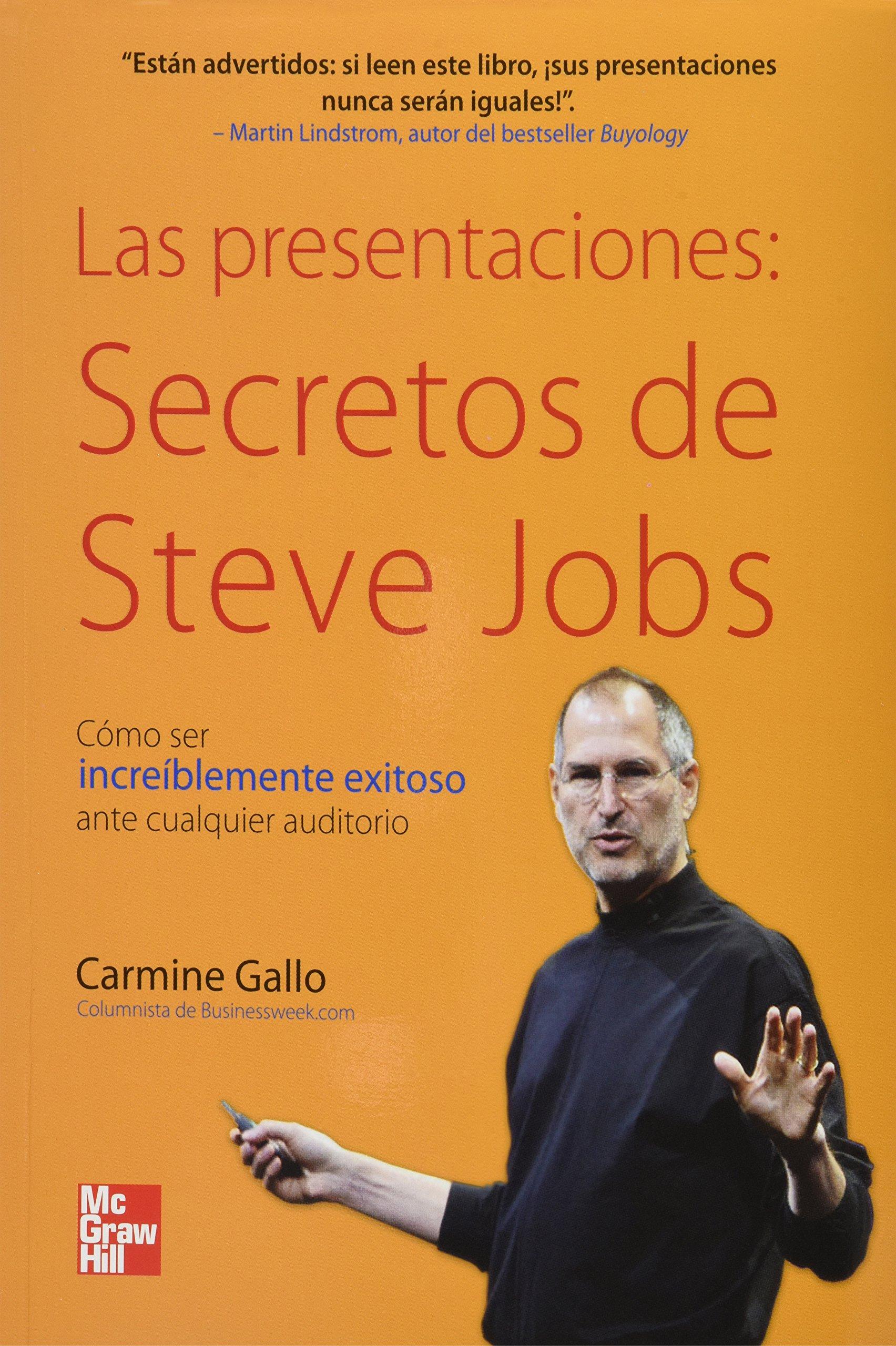 los secretos de las presentaciones de steve jobs amazon es gallo