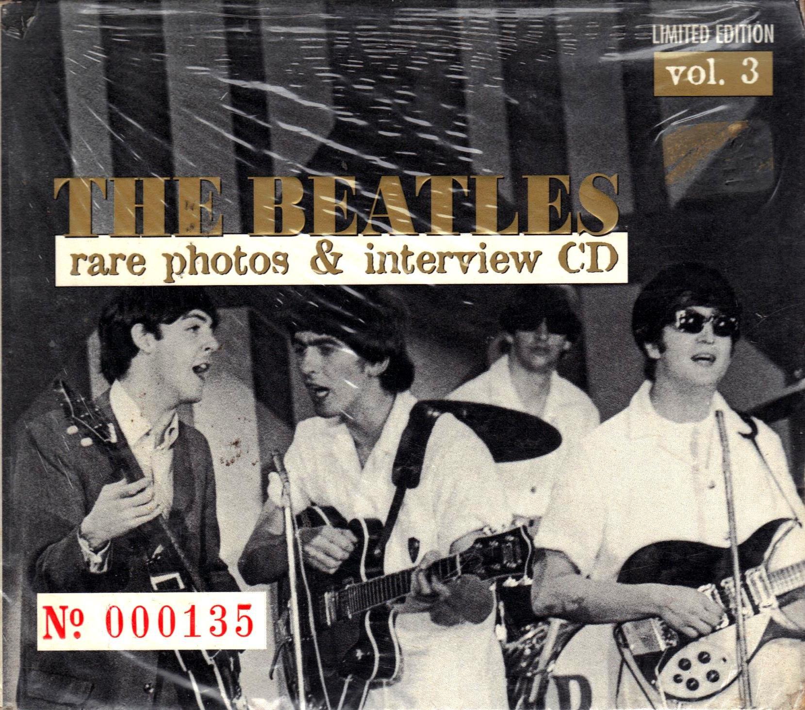 Rare Photos & Interview CD Vol. 3