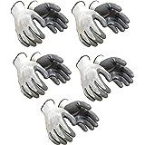 Klaxon Nylon Safety Hand Gloves (Pair 5)