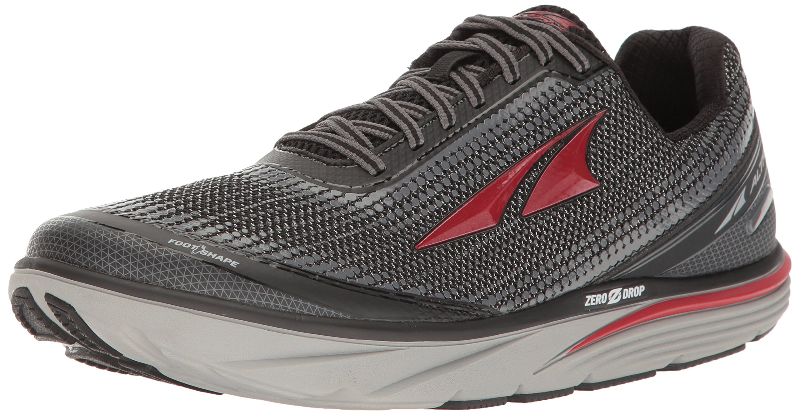 Altra Men's Torin 3 Running Shoe, Black/Red, 10 D US