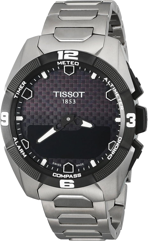 Tissot Men s Swiss Quartz Titanium Casual Watch Model T0914204405100