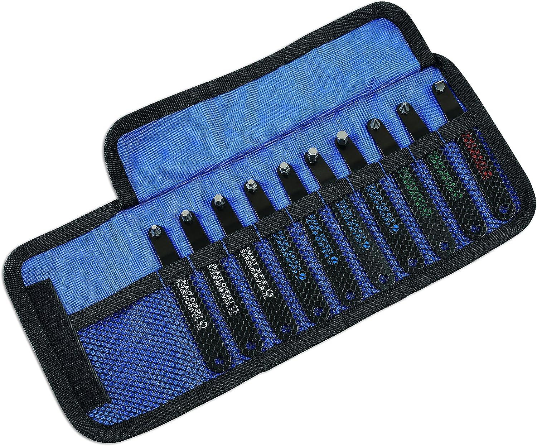 /Argent 10/pi/èces Laser 6709/Low Profile Offset Outil Kit/