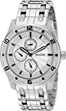 Bulova Men's 'Crystal' Quartz Stainless Steel Casual Watch (Model: 96C106)