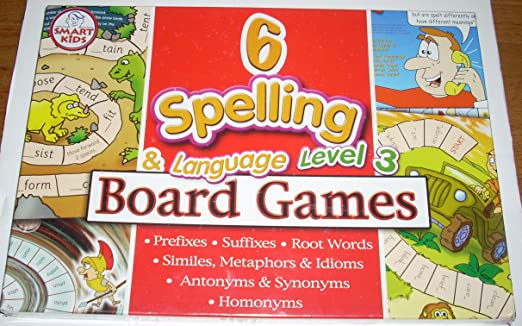 Smart Kids L41 - Juego de mesa de ortografía e idioma: Amazon.es ...