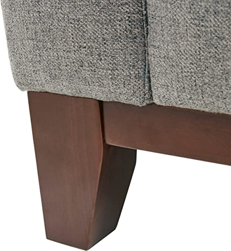 Amazon Brand Rivet North End Wood Accent Living Room Arm Chair